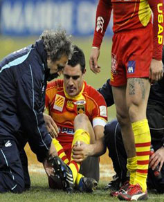 BLESSURE-RUGBY